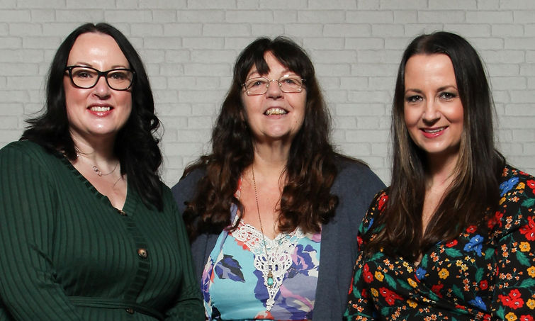 Well Training Ofsted inspection, From left Lianne Russell, Jackie Wyke and Lindsey Flynn.j
