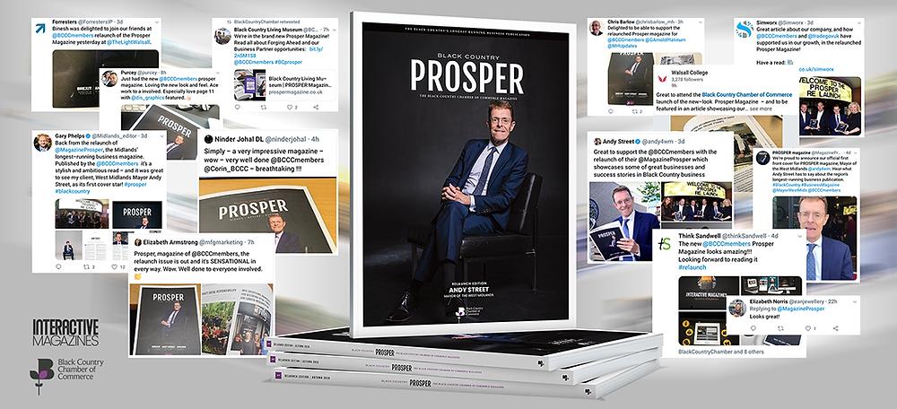 PROSPER Magazine | Social Media Feedback