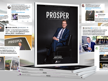 The new PROSPER publication is so much MORE than just a magazine...