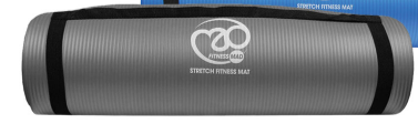 Stretch Fitness Mat - Grey