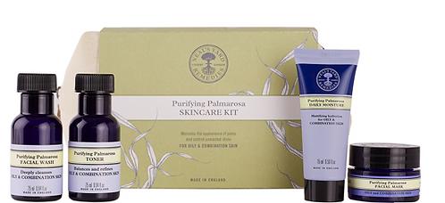Neals Yard Purifying Palmarosa Skincare Kit