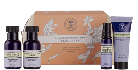 Neals Yard Orange Flower Skincare Kit