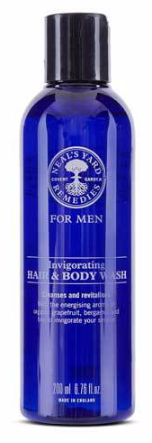 Neals Yard For Men Invigorating Hair And Body Wash