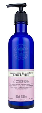 Frankincense & Mandarin Body Lotion