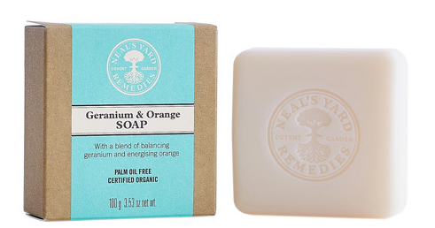 Neals Yard Geranium & Orange Soap