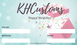 Birthday GiftCard
