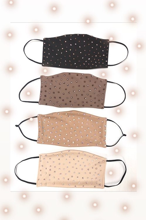 Blinged Face Cover