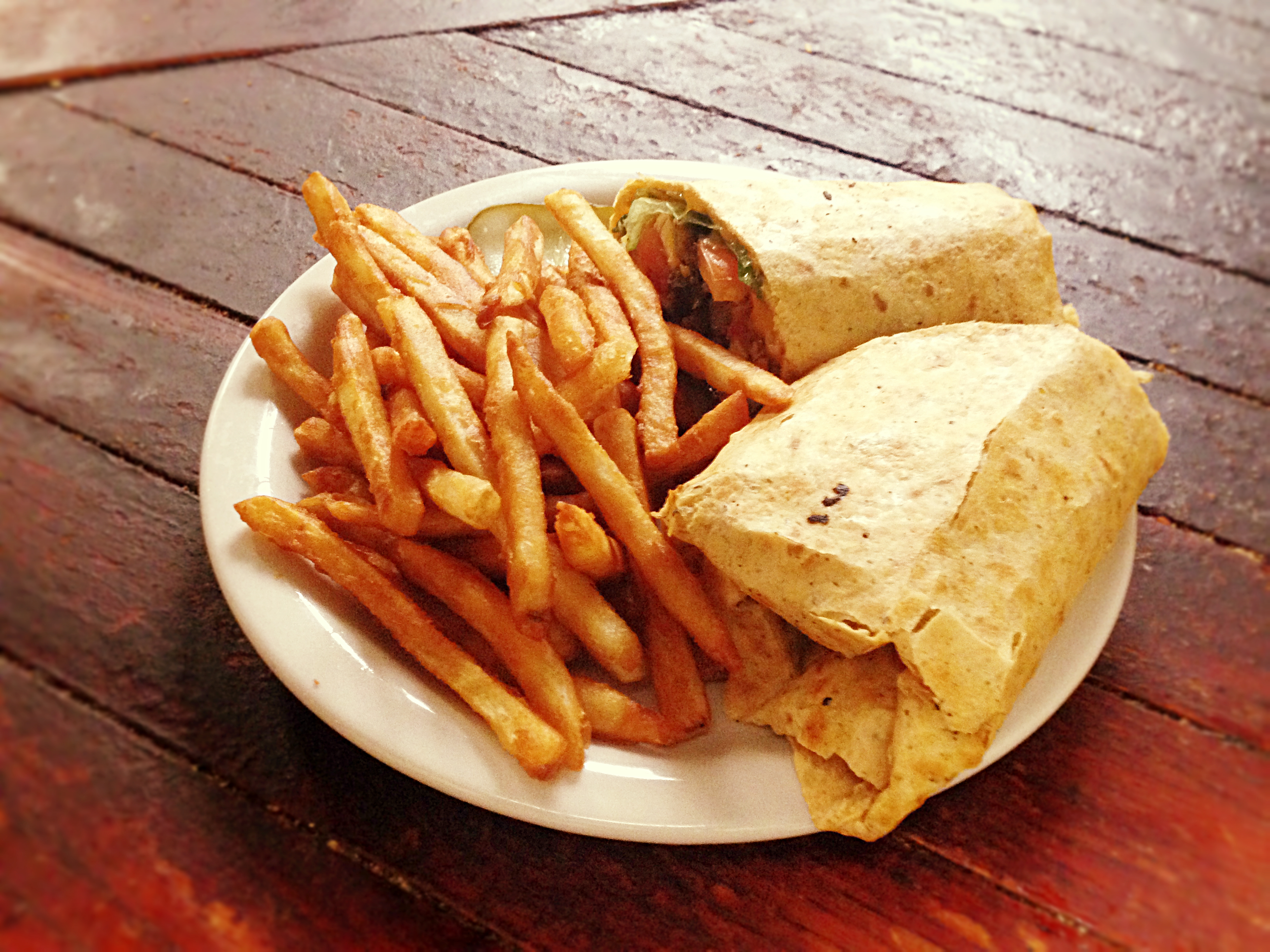 One of our many tasty wraps!