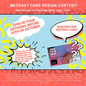 Mecenat card design contest!