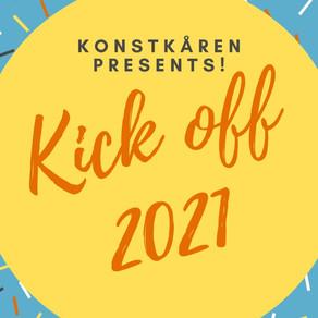 Konstkåren Kick off 2021!!!