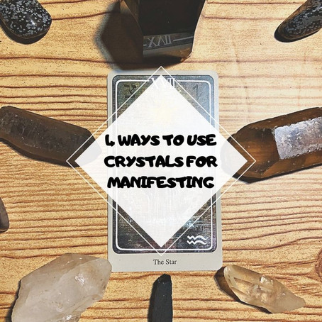4 Ways To Use Crystals For Manifesting