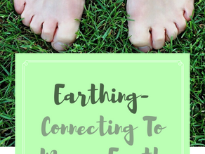 Earthing- Connecting to Mama Earth