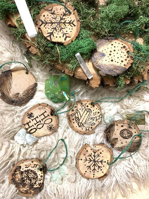 Pyrography Ornaments