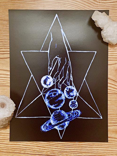 """Dangling Divinity""8x12 Print"