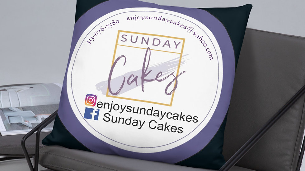 """Sunday's Cakes presents...""""Pillows & Poetry"""""""