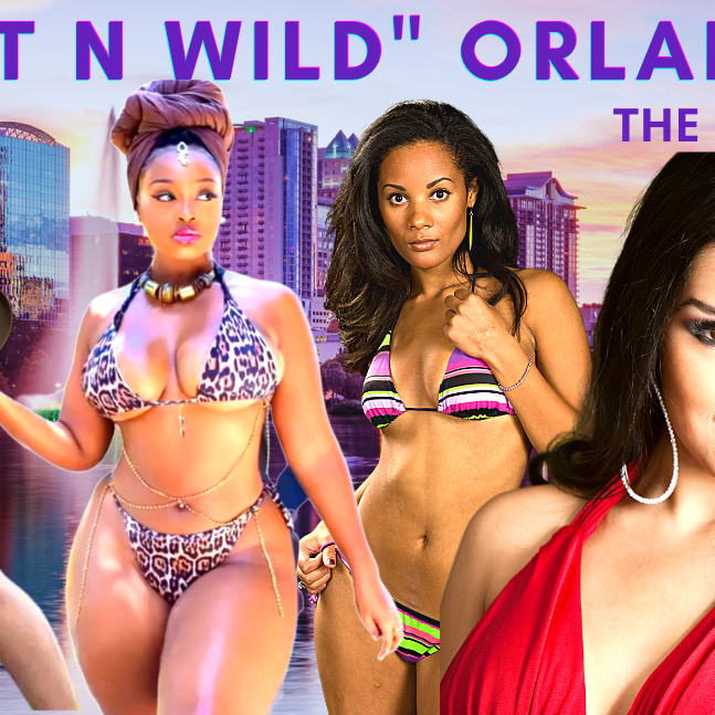 """""""WET N WILD""""- ORLANDO, FL  """"Ms. Globe"""""""