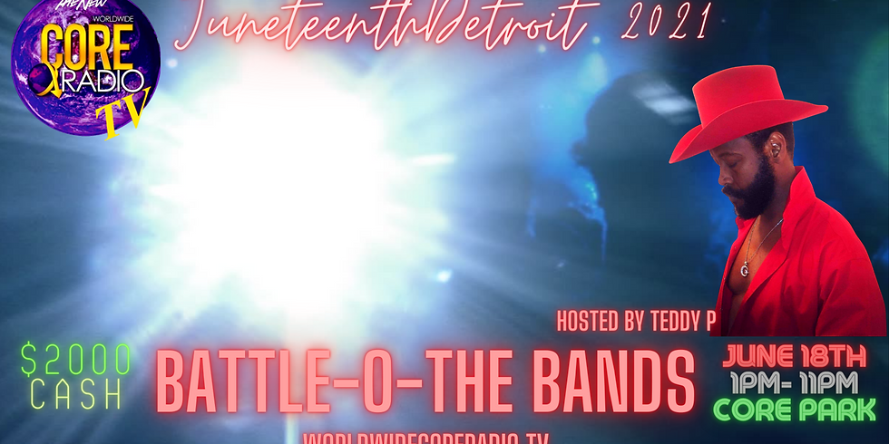 """""""I'M ON THE GUEST LIST"""" at the Battle-O-The Bands"""