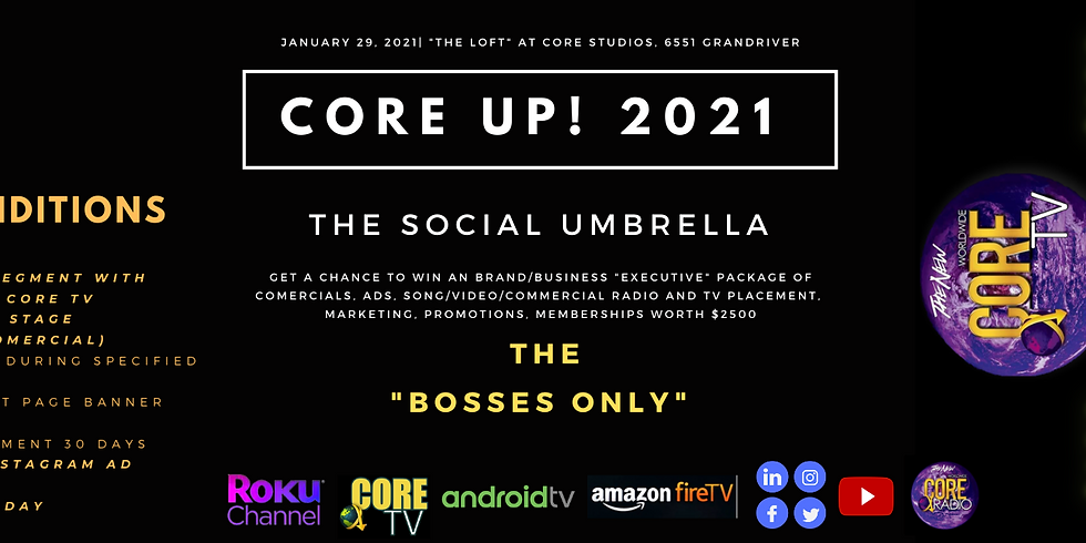 """JuneteenthDetroit presents..""""BOSSES ONLY""""-The Social Umbrella"""