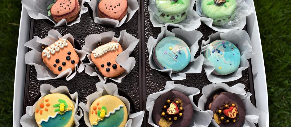 Beautiful Macarons from Little Ms Hula!!!