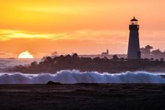 Santa Cruz Double lighthouse