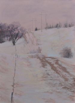 """Road's Open""   9x12 pastel"