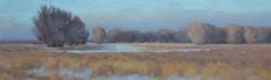 """Field By The Powder River""   30x9 o"