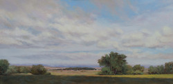 """""""Going West""""   15x30 oil"""