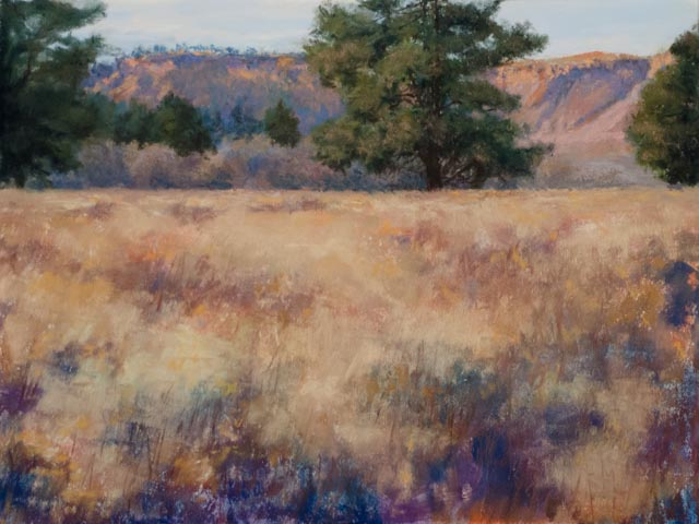 """Sand Creek Afternoon""  9x12 pastel"