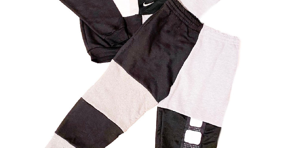 REWORKED NIKE SWEAT SET