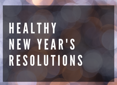 Health & Wellness New Year's Resolutions