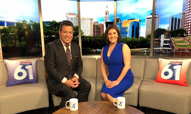 Lyme Disease Expert Dr  Tania Dempsey on Fox 61 News Sharing