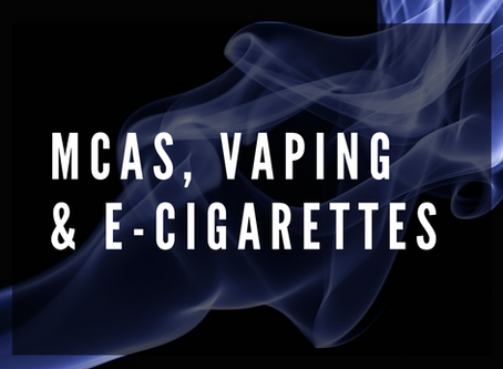 Mast cell activation syndrome and vaping
