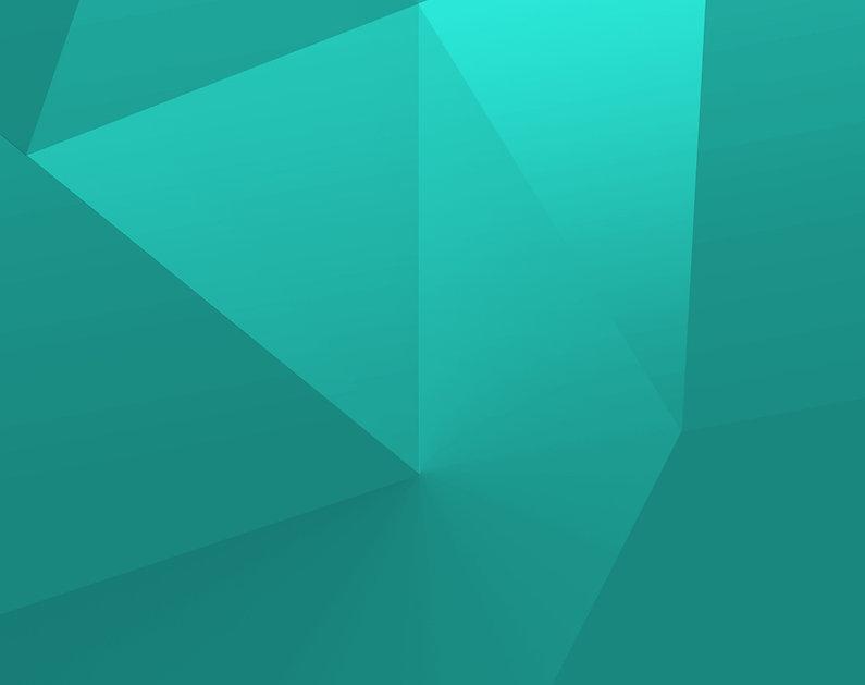 Zelené Geometrické tvary