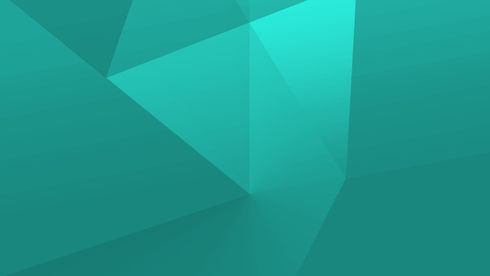 Green Geometric Shapes