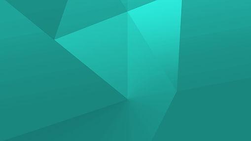緑の幾何学図形