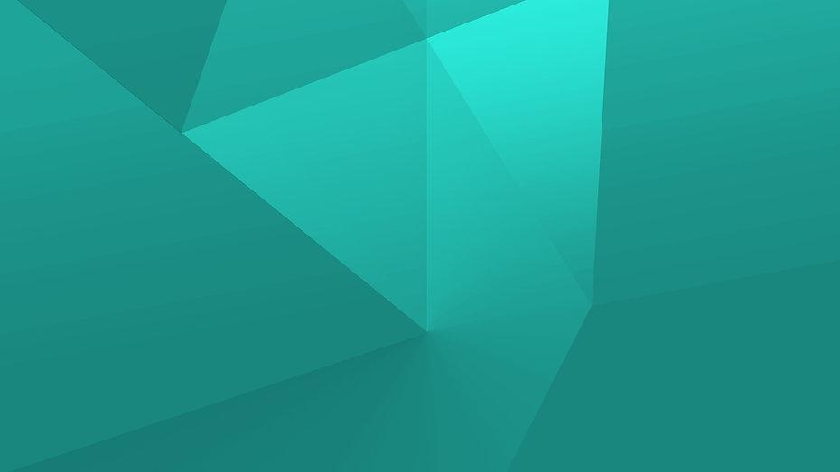 Formas geométricas verdes