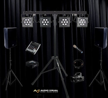 Audio Visual Hire Adelaide House Party U