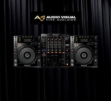 Audio Visual Hire Adelaide DJ Packs DJ B