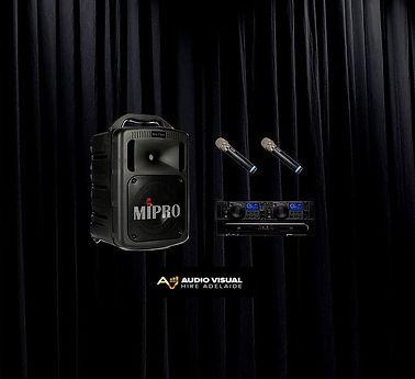 Audio Visual Hire Adelaide Portable PA H