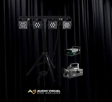 Audio Visual Hire Adelaide Party Lightin