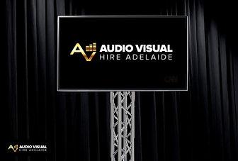 Audio Visual Hire Adelaide - 75' TV on T