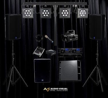 Audio Visual Hire Adelaide Party Speaker