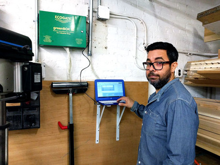 Ecogate Featured in Woodshop News Article