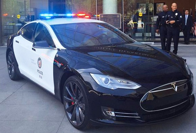 Tesla Model S Police Cars