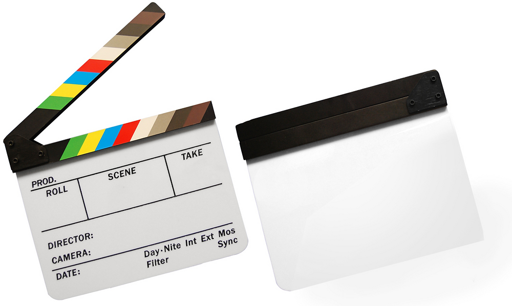 Ecogate co-founder, Petr Litomisky, created the original clapper-with-color-chart.