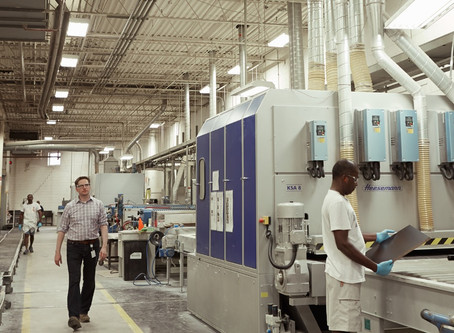 Ecogate Saves Teknion $90,000 annually