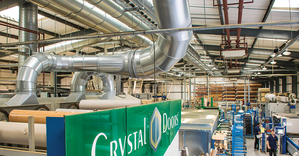 Crystal Doors Manufacturing Facility