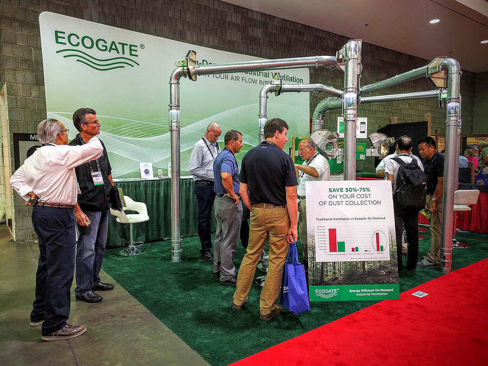 Ecogate Trade Show Booth