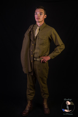 Tenue de sortie - 2nd Rangers Battalion