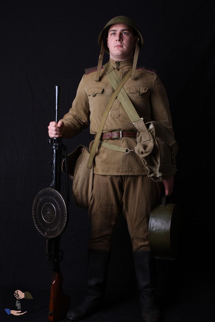 Servant de fusil mitrailleur - 1945